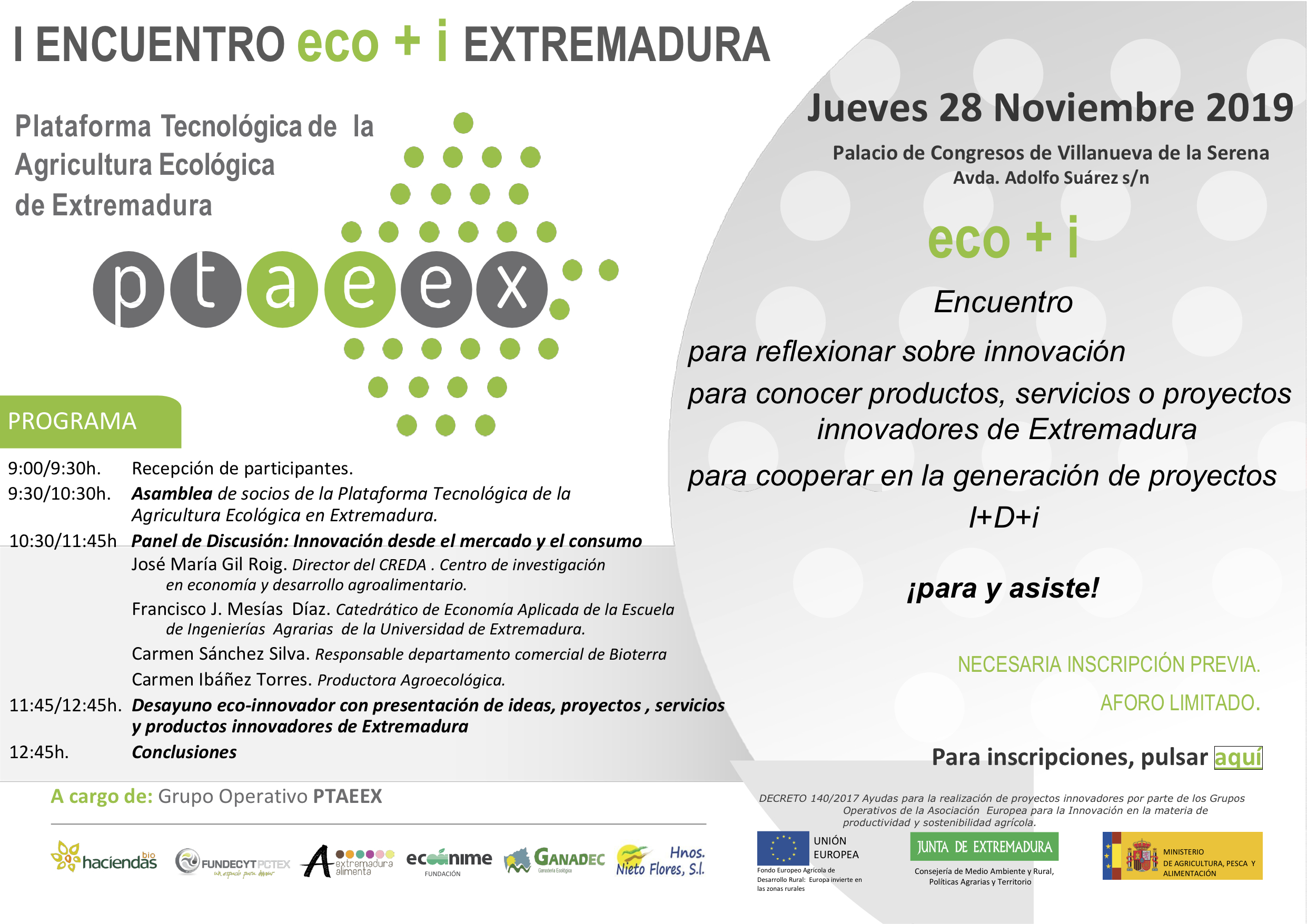 encuentro eco+i Ptaeex